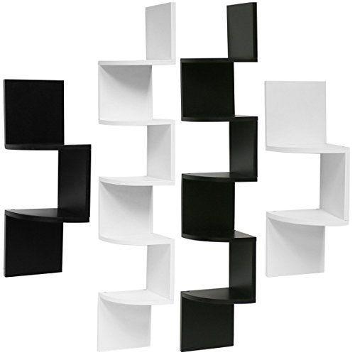 Hartleys Zig Zag Corner Wall Shelf Unit Choice Of Size Https Www Amazon Co Uk Dp B019p2qru0 Ref Corner Wall Shelf Unit Corner Wall Shelves Corner Wall