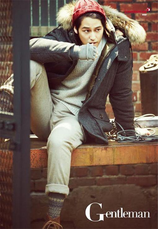 GUY CANDY: Kim Bum jelent a Gentleman-Korea