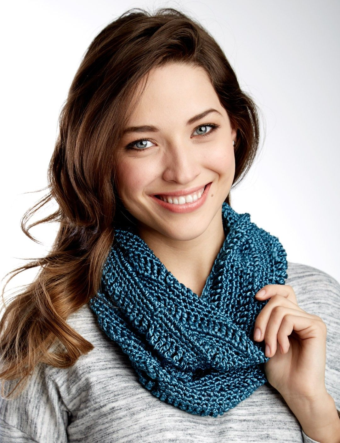 Yarnspirations.com - Patons Drapey Cowl | Yarnspirations | Knit and ...