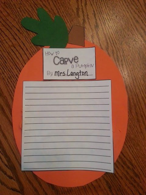 Not So Spooky Halloween Activities for 2nd Grade Fall Party - halloween writing ideas
