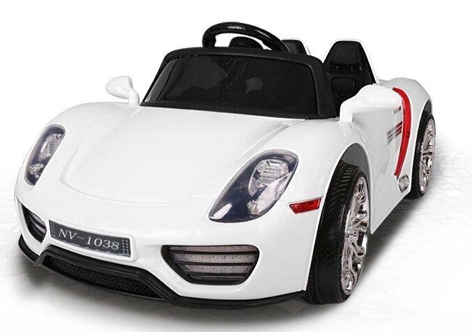 truvia toys has one of the biggest selections of white kids electric car porsche online
