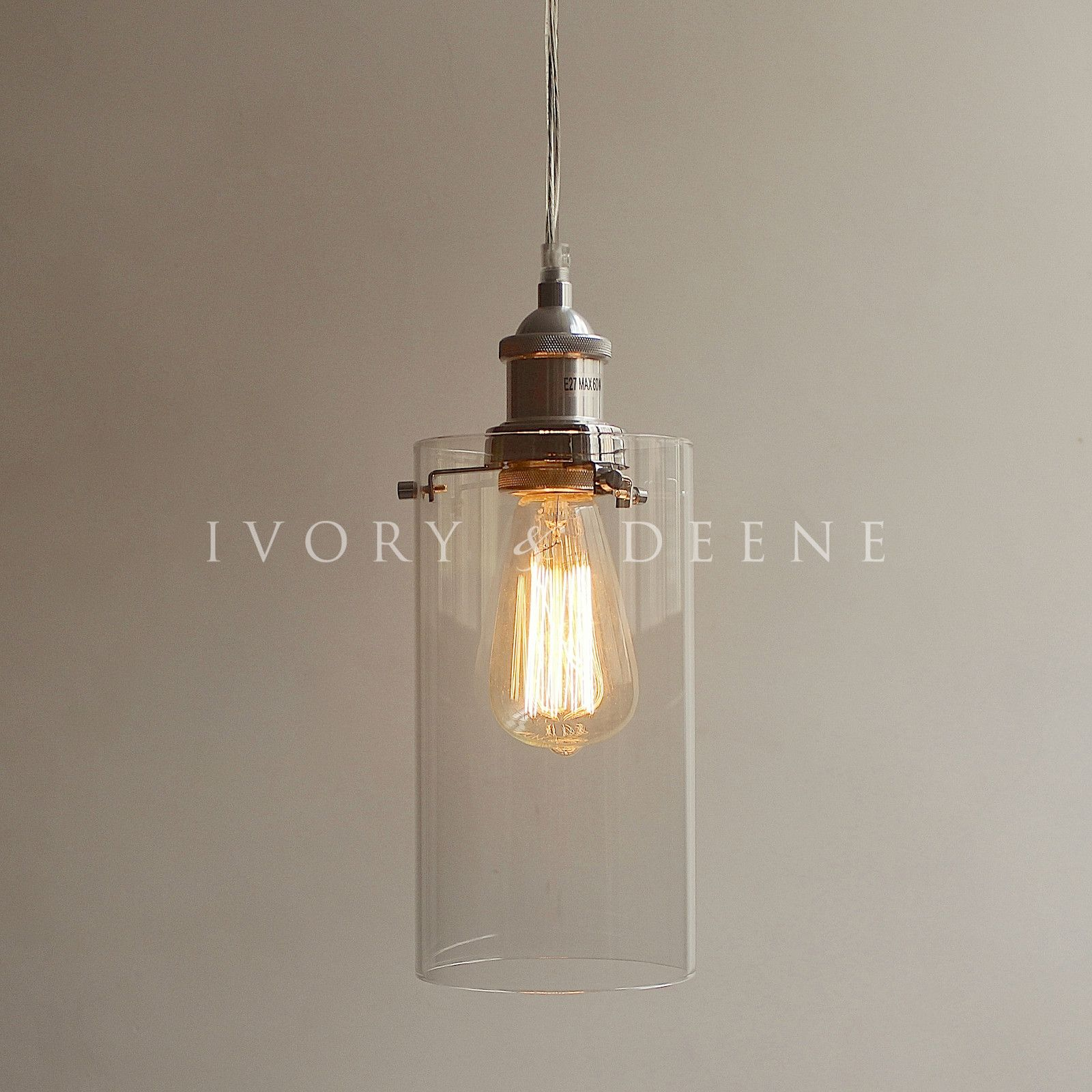 clear glass pendant lighting. Allira Pendant Light Clear Glass Chrome Fittings Lighting A