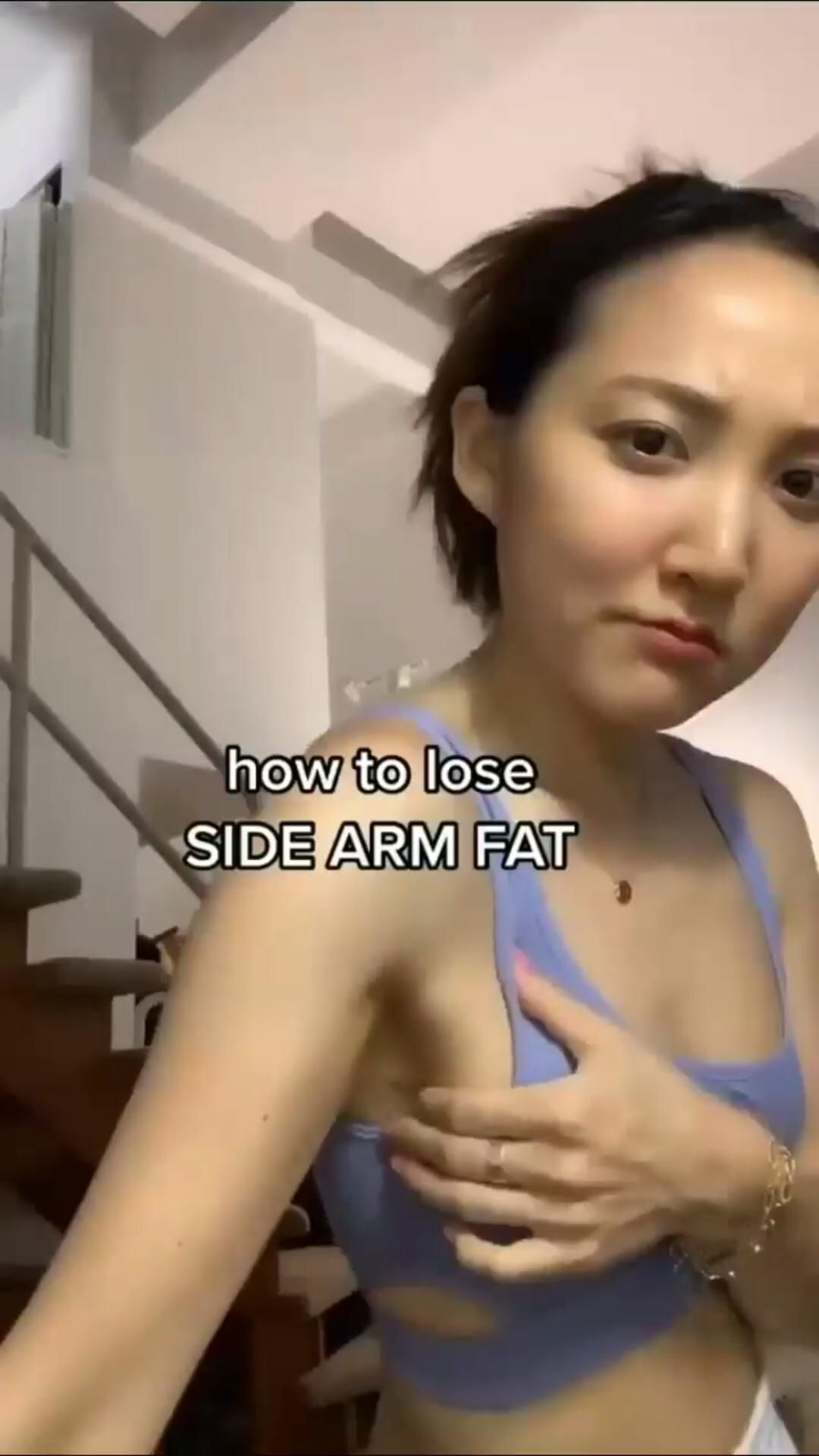 Loose your side arm weight by watching our video!😍