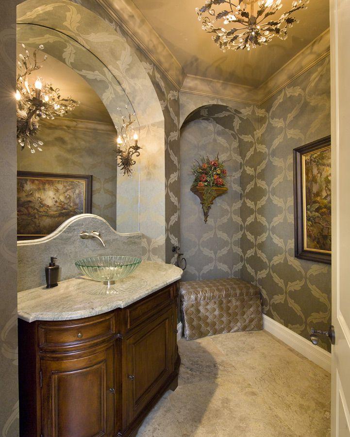 Bathroom - Jinx McDonald Interior Designs, Naples Florida ...