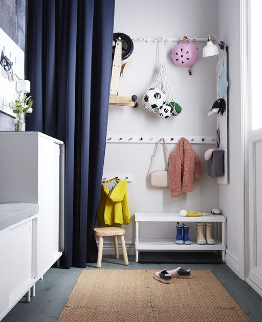 Looking For Smart Hallway Solutions For The Kids Ikea Has A Lot Of