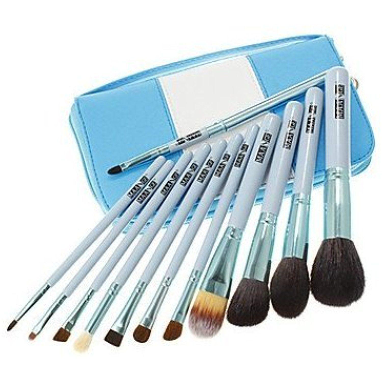12 Makeup Brushes Set Synthetic Hair Face / Lip / Eye