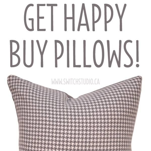 Want to put a bigger smile on that pretty face of yours? Click the link to shop our pillows!  Lots of different styles to choose from - Happy shopping! http://etsy.me/1BdJk75  Be sure to join us on Facebook! - https://www.facebook.com/SwitchStudioCanada/?fref=ts