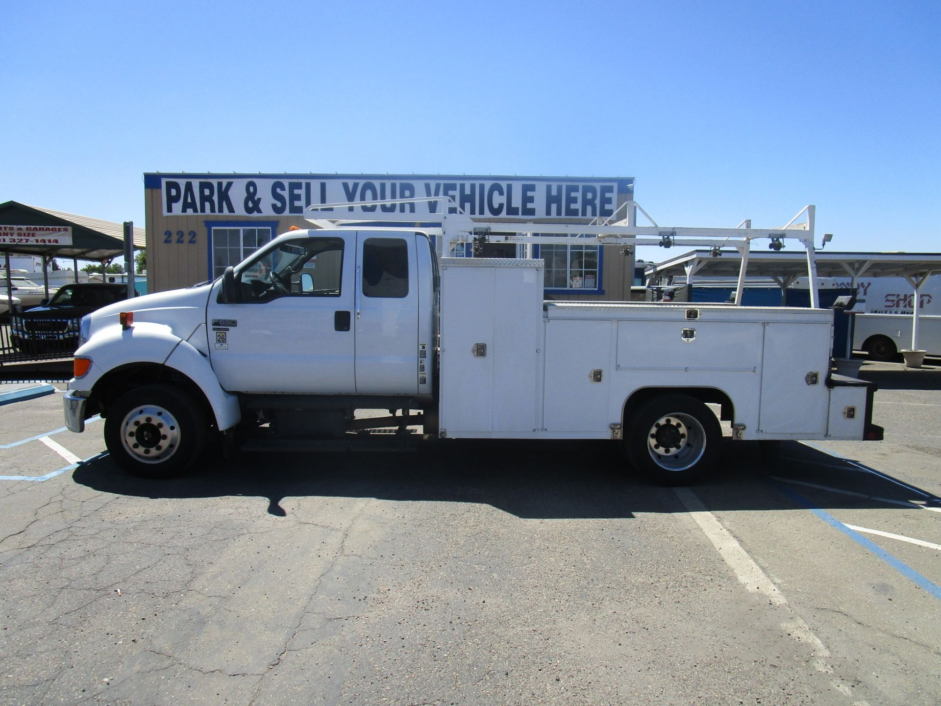 commercial equipment for sale 2006 ford 650 super duty utility in lodi stockton ca in 2020 lockable storage box commercial vehicle lockable storage pinterest