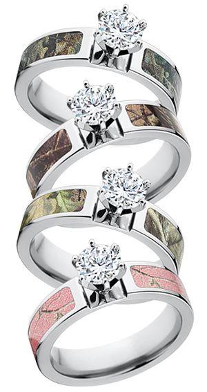 I want a Realtree Camo Engagement Ring realtree