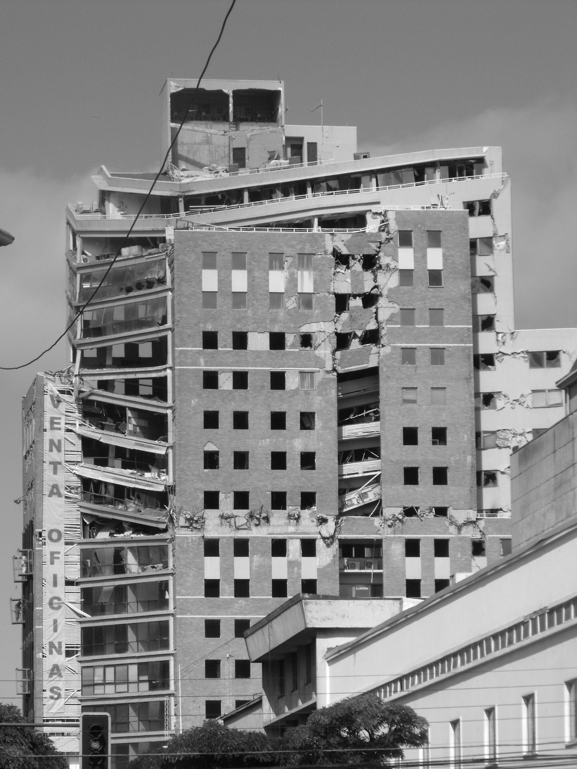 Concepción Post terremoto 2010.