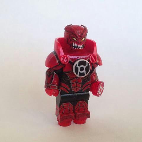 Lego Atrocitus | Lego DC Minifigs | Pinterest | Lego, Red ...