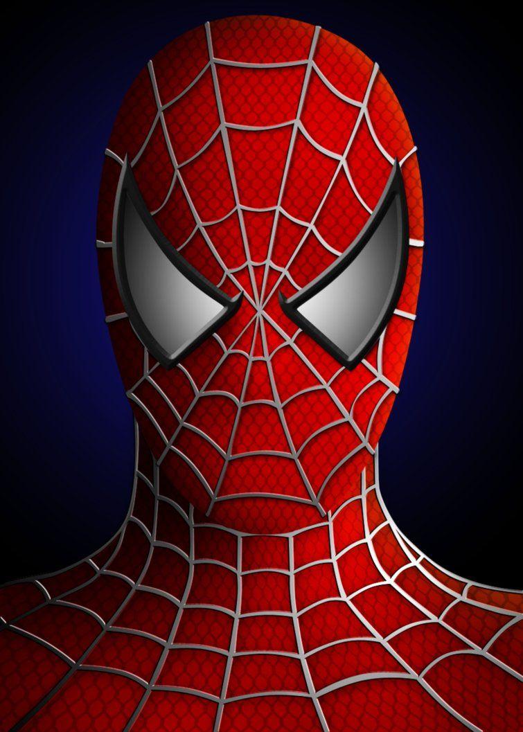 Generic Spiderman Portrait By Susyspider On Deviantart Spiderman Painting Spiderman Spiderman Face