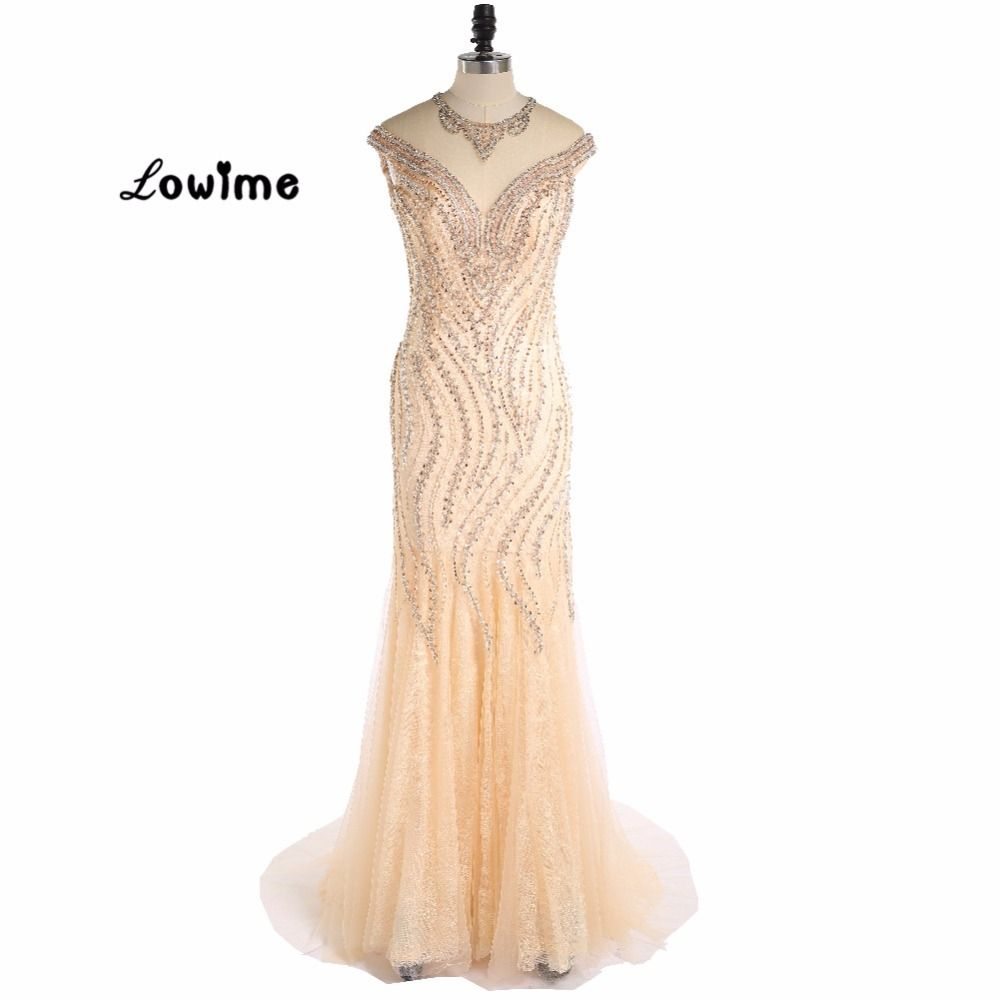 Click to buy ucuc sexy long great gatsby golden mermaid formal evening