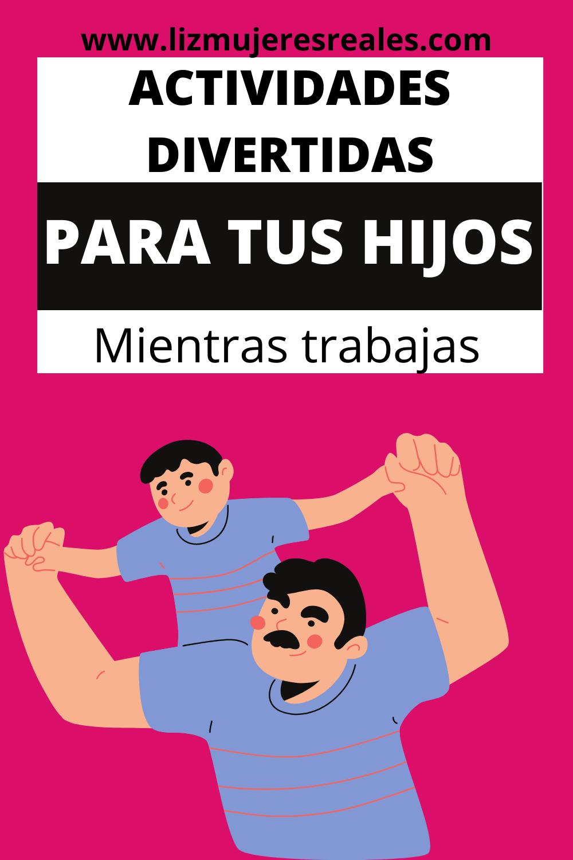 Actividades Divertidas Para Niños Mientras Trabajas Actividades Divertidas Para Niños Niños Pequeños Actividades Divertidas