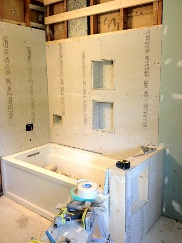 Image result for bathtub pony wall glass | Bathroom remodel ideas ...