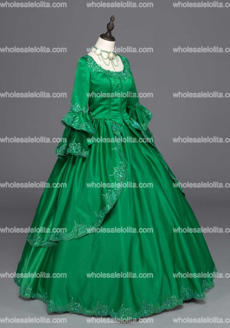 Marie Antoinette Renaissance Dress Christmas Ball Gown Steampunk ...