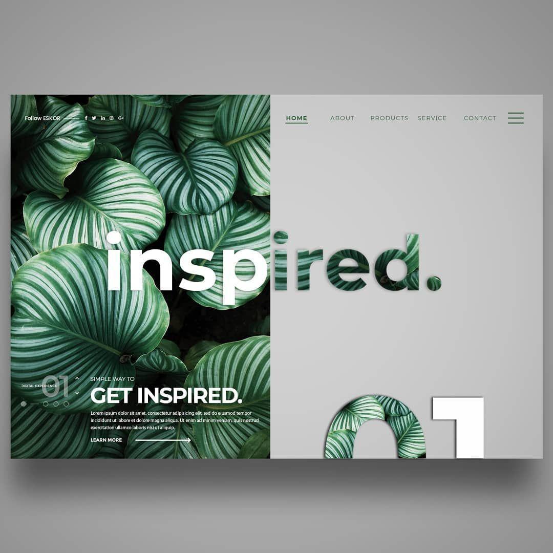 #Inspiredlandingpage #webdesignscreendesignkonzept Inspired#landingpage #webdesign#screendesign#konzept #ui…