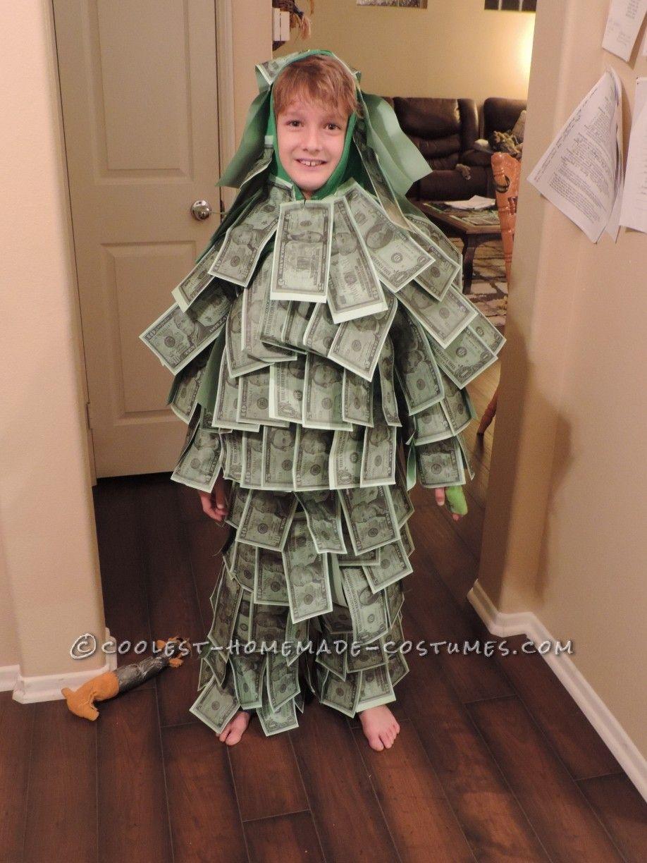 Homemade Geico Made of Money Commercial Kids Costume. Guy CostumesCheap ...  sc 1 st  Pinterest & Homemade Geico Made of Money Commercial Kids Costume | Costumes ...