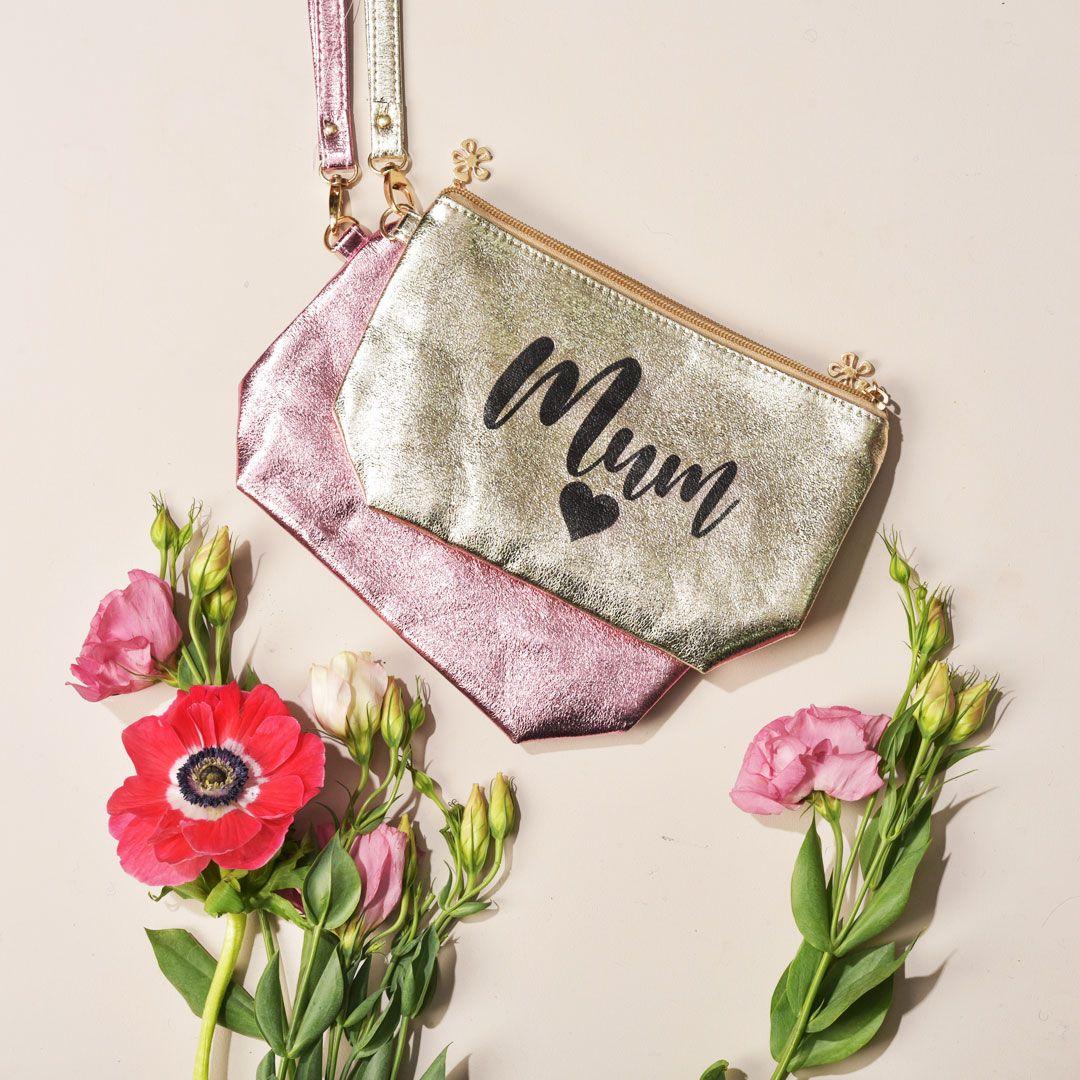 Personalised Shiny Makeup Bag Name in 2020 Makeup bag