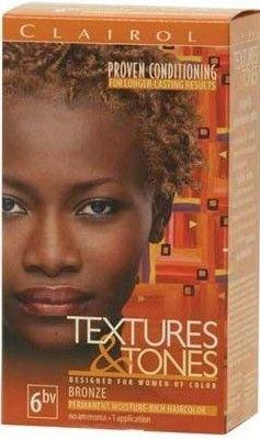 My Next Color Clairol Textures Tones Permanent Hair In Bronze