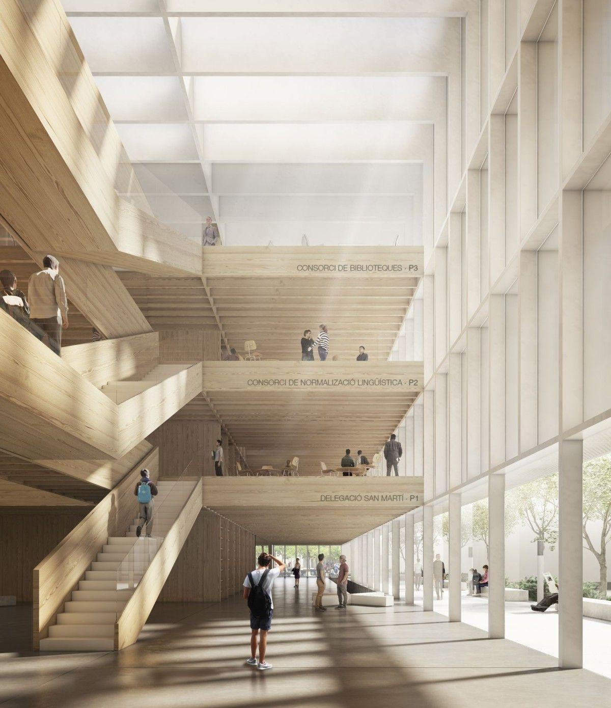 Vaillo Irigaray . KULTURAL CENTER & BOOK HUB . BARCELONA afasia (0) | a f a s i a #arquitectonico