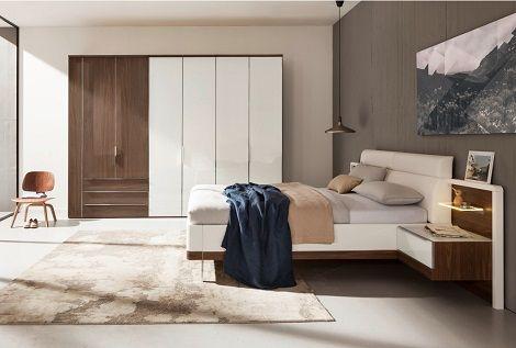 Horizont 10500 draaideurkast voor schuine wanden,6 deuren,laden - nolte möbel schlafzimmer