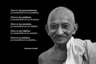 Frases Gandhi Imagenes Motivaciones De Vida 289