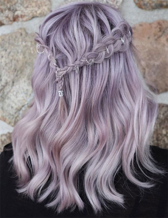 Photo of Fabulous Ethereal Silver Haarfarbe im Jahr 2019   Voguetypes