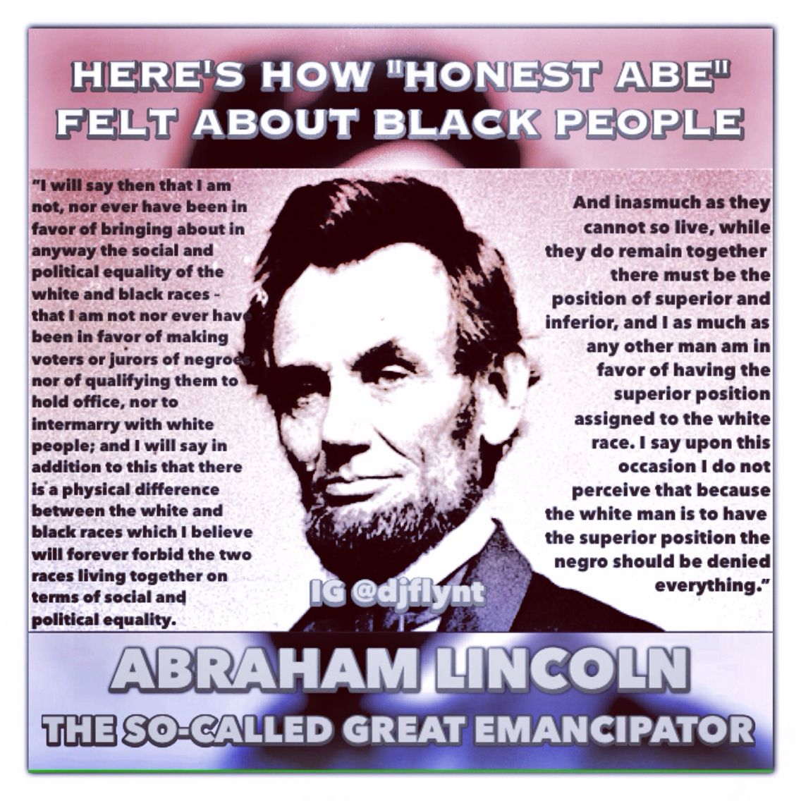 Black History Fact Today Is Abraham Lincoln S Birthday