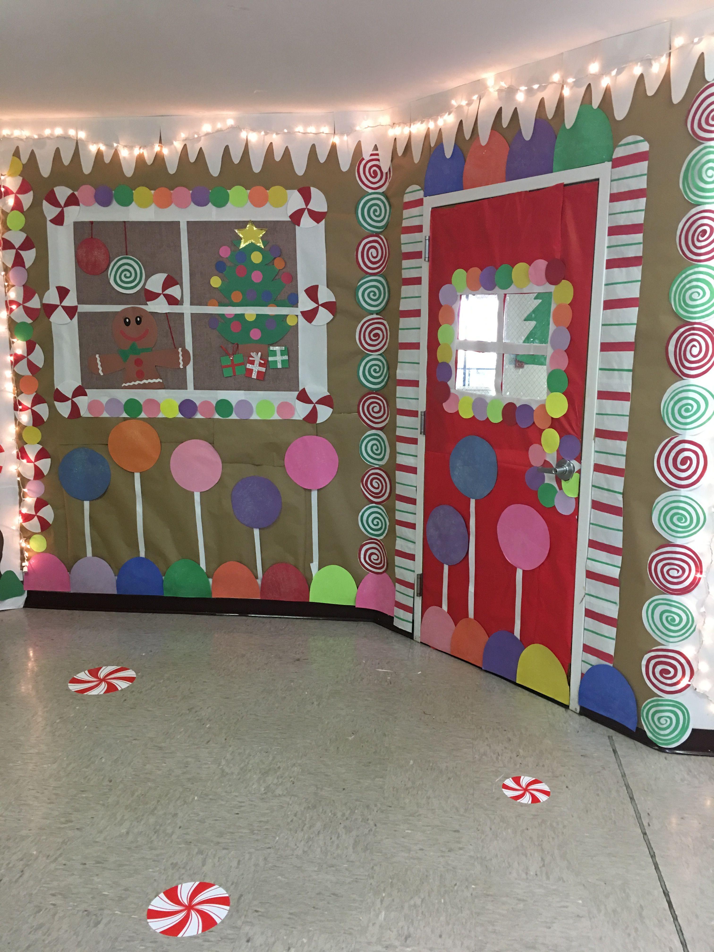 Ginger Bread School Room Door