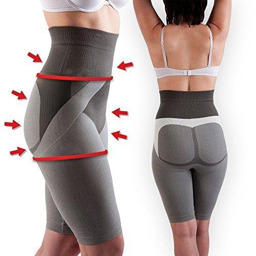 UK Anti Cellulite shorts Tourmaline Active Crystals Slimming Control fat burning