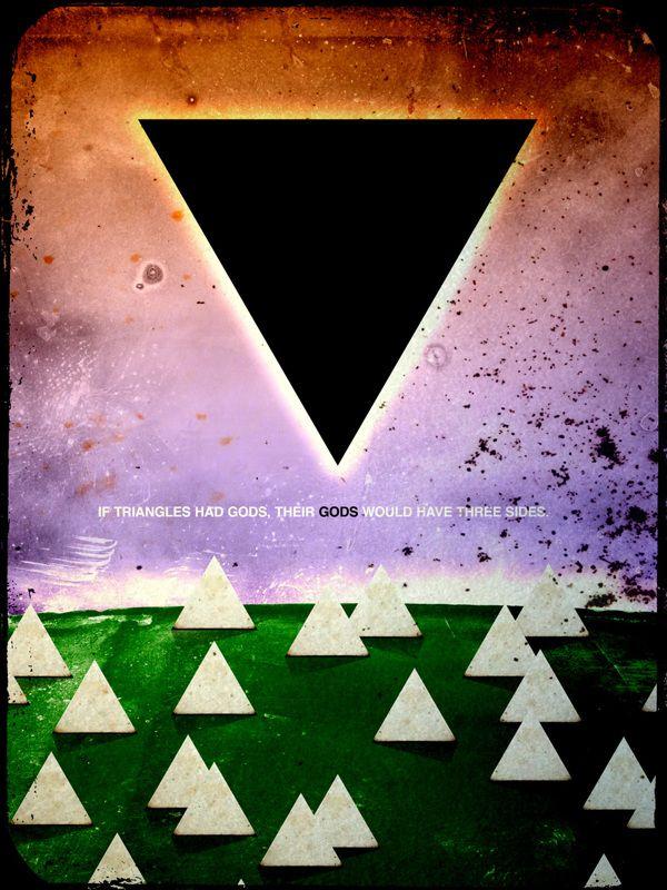 Triangles & Gods on Behance