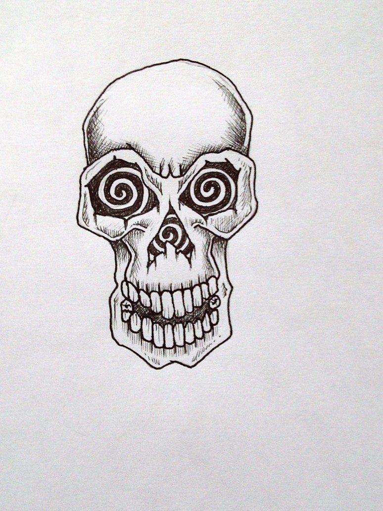 Simple Skull Tattoos Basic Skull Tattoo By Tatuagem