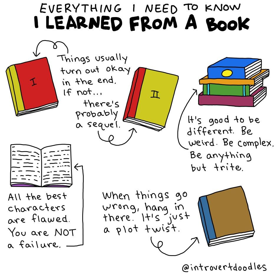 Image result for Everything I need to know I learned from a book