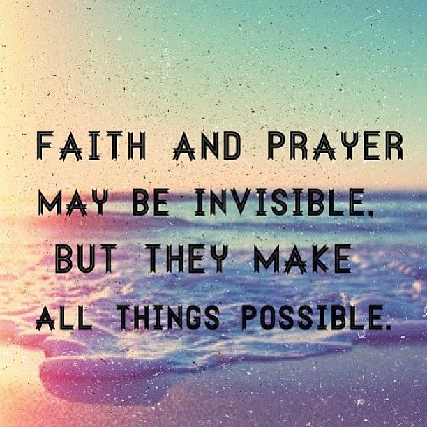 All Things Are Possible Through Christ Inspire Pinterest Faith