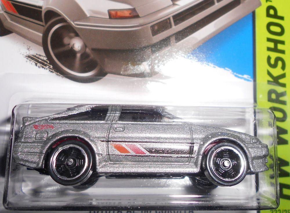 HOT WHEELS 2014 TOYOTA AE86 COROLLA HotWheels