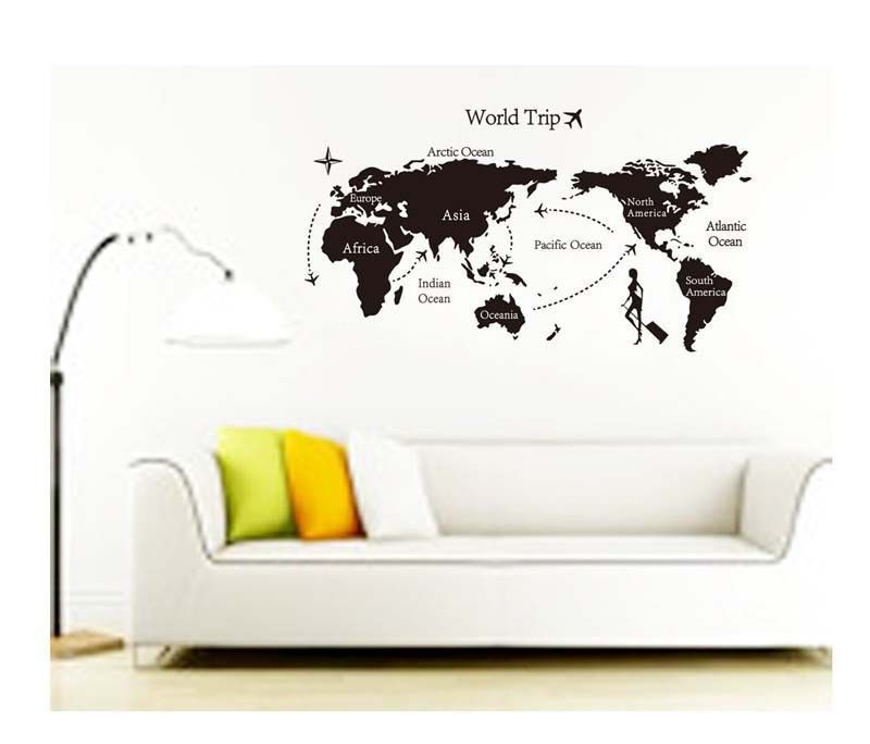 Photo world trip continent map wall decal sticker sl7225 lana photo world trip continent map wall decal sticker sl7225 lana decals gumiabroncs Gallery