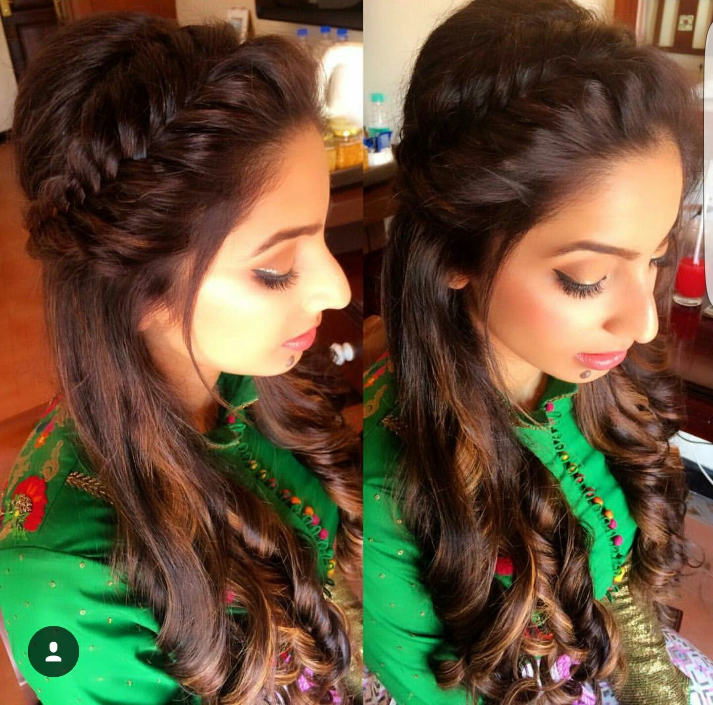 23 Evergreen Romantic Bridal Hairstyles: Pin By Namrata Kl On Hair Style