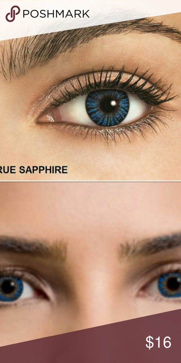 stunning true sapphire lenses gorgeous true blend color cosmetic