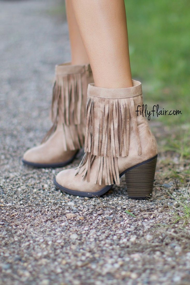 Watch - How to fringe wear ankle boots video