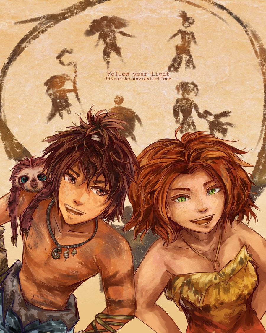 [The Croods] Follow Your Light by Fiveonthe.deviantart.com on @deviantART