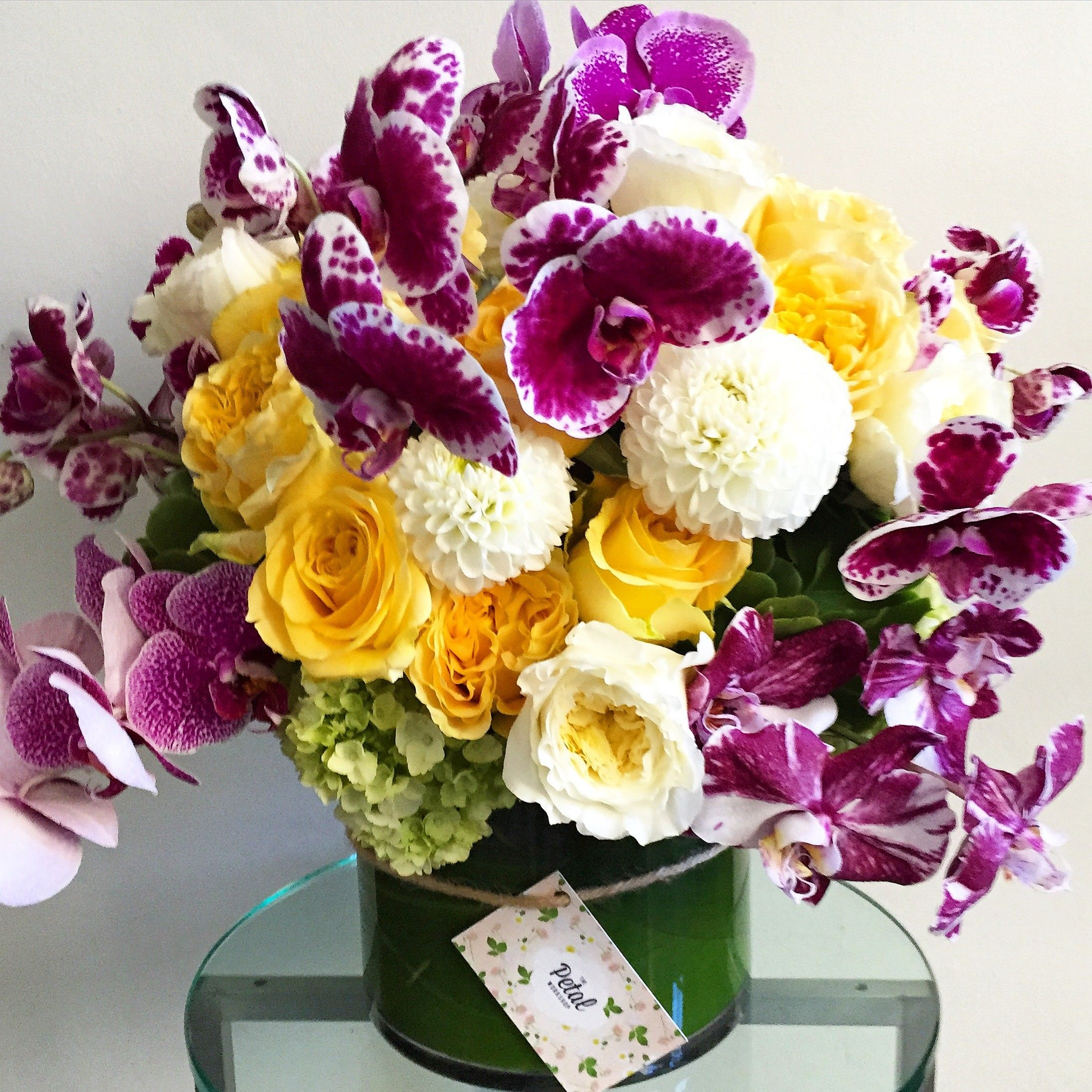 Send The Happy Birthday Arrangement. in Los Angeles, CA