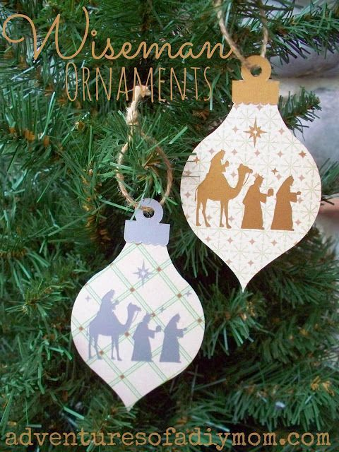 Wisemen Ornament 12 Days Of Christmas Ornaments Christmas Ornaments Diy Christmas Ornaments Christian Ornaments