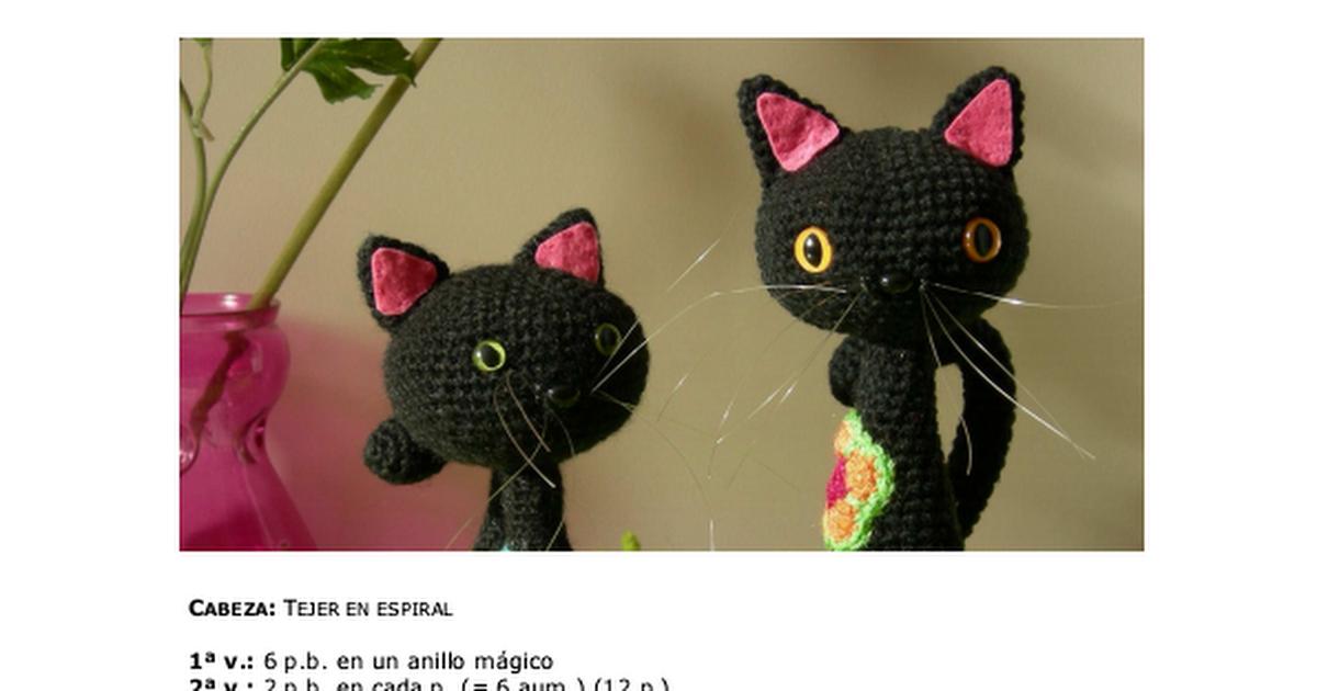 Instrucciones Gato.pdf | AMIGURUMIS | Pinterest | Gato, Patrones ...