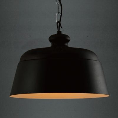 """Black Wrought Iron 12.9""""Wide Large Pendant Lighting for Dinning Room"""