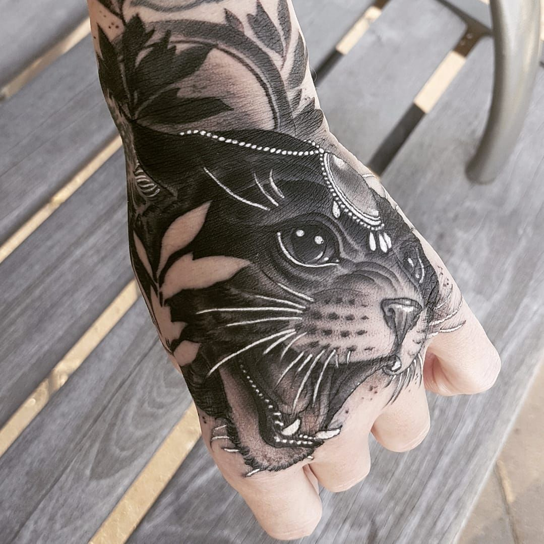 Cat Attack By Antony Flemming Antonyflemming Neotraditional