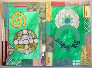 A Penchant for Paper: Art Journaling, Part 3: Collage