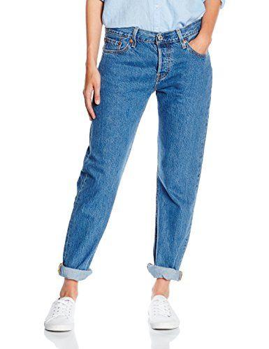Levis Womens 501 CT Jeans, Blue (SURF SHACK 13), W29L32
