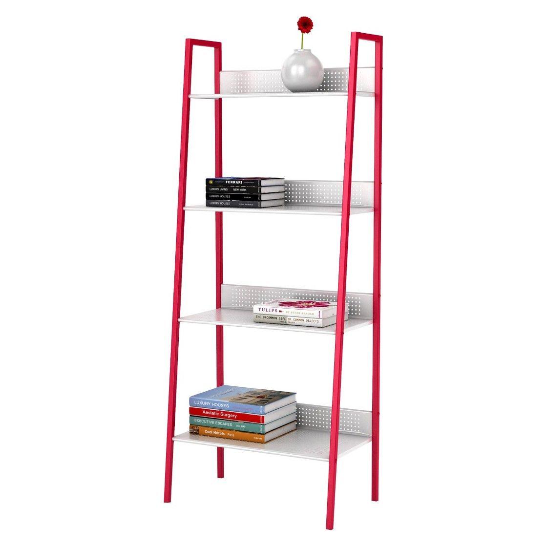 Tier Angled Ladder Shelving