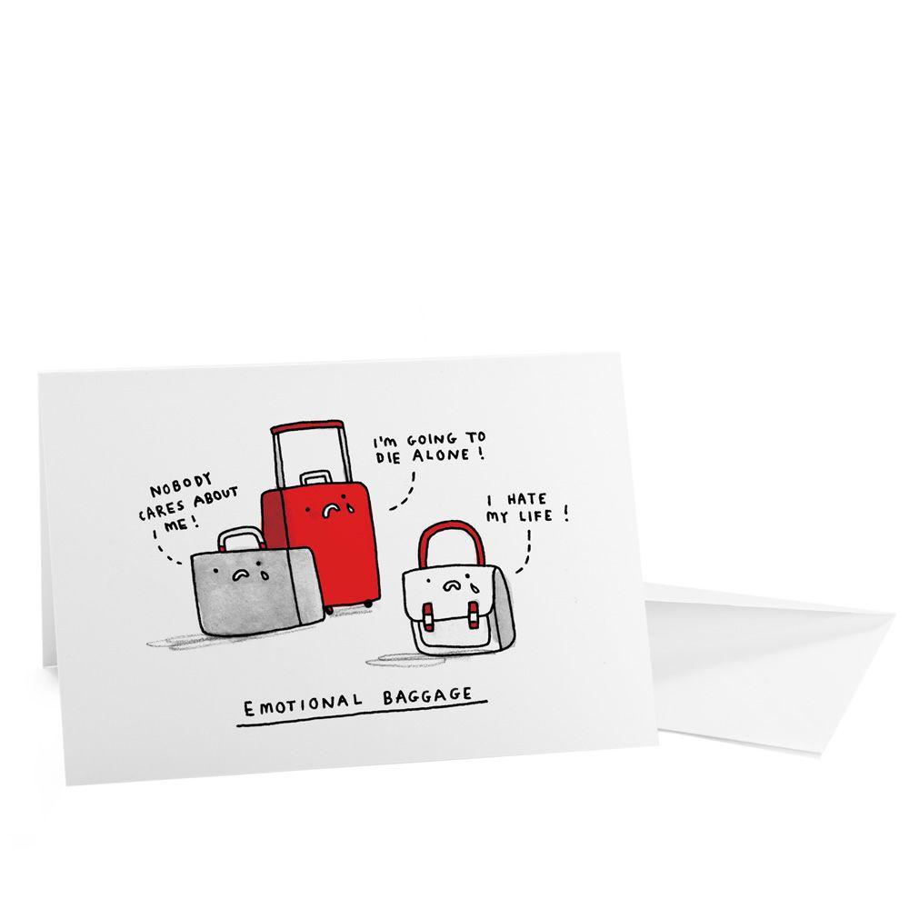 Gemma correll emotional baggage card kinshipofoxford art gemma correll emotional baggage card kinshipofoxford m4hsunfo